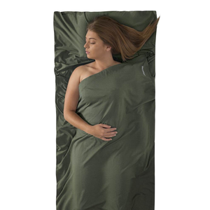 SEA TO SUMMIT SEA TO SUMMIT EXPANDER LINER TRAVELLER WITH PILLOW INSERT, EUCALYPTUS GREEN