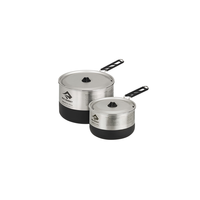 SEA TO SUMMIT SIGMA POT SET 2: 1.2L AND 2.7L