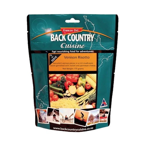 BACKCOUNTRY BACKCOUNTRY VENISON RISOTTO DOUBLE SERVE
