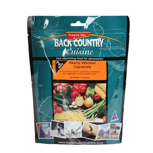 BACKCOUNTRY BACKCOUNTRY HEARTY VENISON CASSEROLE DOUBLE SERVE