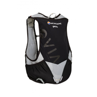 MONTANE VIA GECKO, LIGHTWEIGHT TRAIL RUNNING VEST, BLACK