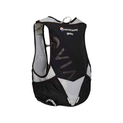 Montane MONTANE VIA GECKO, LIGHTWEIGHT TRAIL RUNNING VEST, BLACK