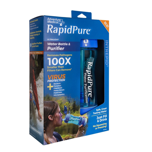 RAPIDPURE RAPIDPURE INTREPID BOTTLE WATER PURIFIER