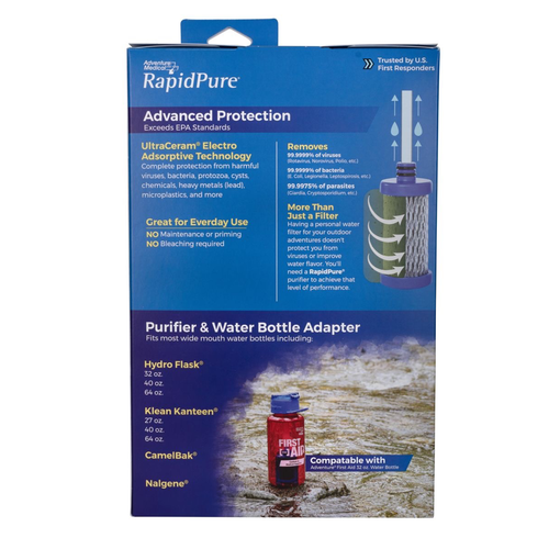 RAPIDPURE RAPIDPURE UNIVERSAL  BOTTLE WATER PURIFIER ADAPTOR