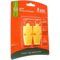 AMK SOL RESCUE HOWLER WHISTLE 2PK
