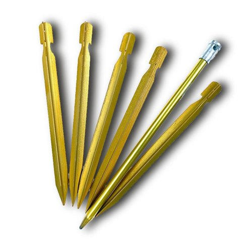 Six Moon Designs SIX MOON DESIGNS SINGLE  6 PIECE PEG SET