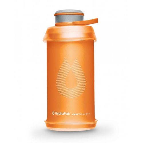 HYDRAPAK HYDRAPAK 750ML STASH 2.0 BOTTLE, ORANGE