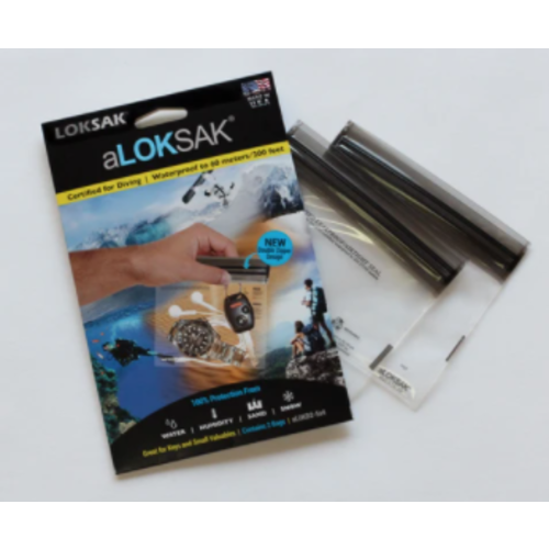 ALOKSAK ALOKSAK WATERPROOF BAG MULTI PACKS SIZE ITM SIZE 5X4 (2 PACK)