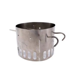 Toaks Titanium TOAKS TITANIUM ALCOHOL STOVE DUAL STAND AND WINDSCREEN