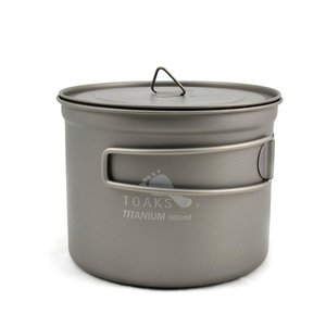Toaks Titanium TOAKS TITANIUM POT WITH LID 900ML