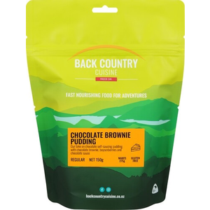BACKCOUNTRY BACKCOUNTRY CHOCOLATE BROWNIE PUDDING (REGULAR)