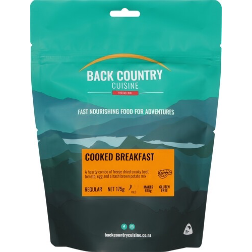 BACKCOUNTRY COOKED BREAKFAST (REGULAR)