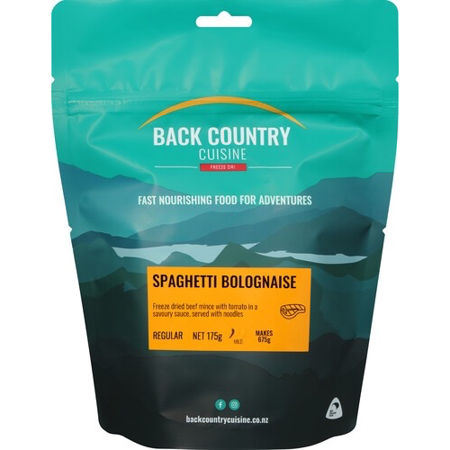 BACKCOUNTRY BACKCOUNTRY SPAGHETTI BOLOGNAISE (REGULAR)