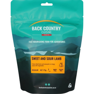 BACKCOUNTRY SWEET AND SOUR LAMB (REGULAR)