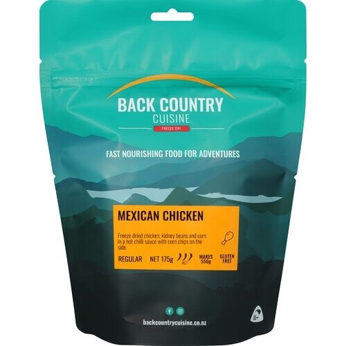 BACKCOUNTRY BACKCOUNTRY MEXICAN CHICKEN (REGULAR)