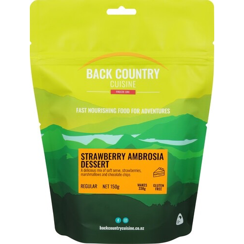 BACKCOUNTRY BACKCOUNTRY STRAWBERRY AMBROSIA DESSERT (REGULAR)