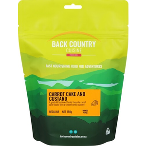 BACKCOUNTRY BACKCOUNTRY CARROT CAKE & CUSTARD (REGULAR)