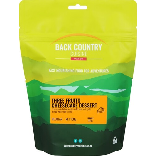 BACKCOUNTRY BACKCOUNTRY THREE FRUITS CHEESECAKE (REGULAR)