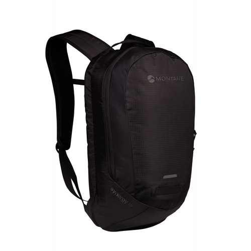 Montane MONTANE SYNERGY 15L, LIGHTWEIGHT COMMUTE DAYPACK, BLACK