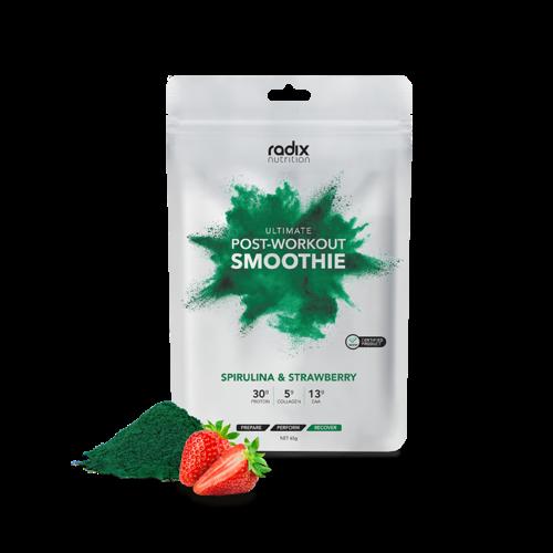 RADIX NUTRITION RADIX NUTRITION ULTIMATE POST-WORKOUT SPIRULINA & STRAWBERRY SMOOTHIE