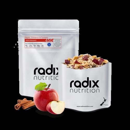 RADIX NUTRITION RADIX NUTRITION PERFORMANCE 450 APPLE, CINNAMON & TURMERIC BREAKFAST