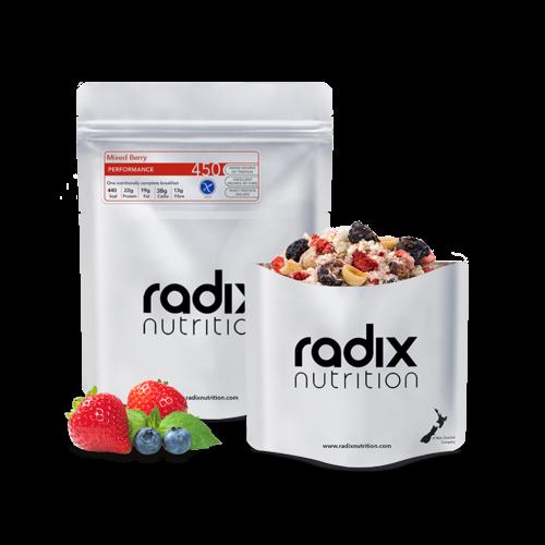 RADIX NUTRITION RADIX NUTRITION PERFORMANCE 450 MIXED BERRY BREAKFAST