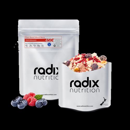 RADIX NUTRITION RADIX NUTRITION PERFORMANCE 450 PLANT-BASED MIXED BERRY BREAKFAST
