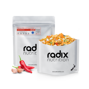 RADIX NUTRITION RADIX NUTRITION PERFORMANCE 400 MEXICAN CHILLI WITH ORGANIC BEEF