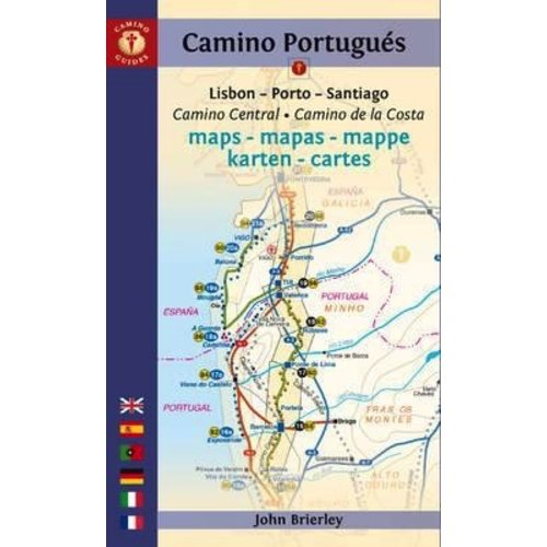 CAMINO PORTUGUES MAPS 2016 John Brierley