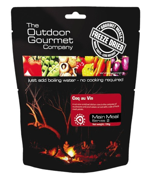BACKCOUNTRY OUTDOOR GOURMET COQ AU VIN (DOUBLE SERVE)