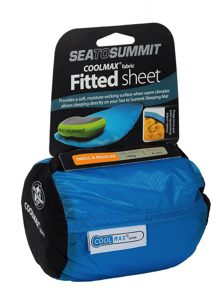 SEA TO SUMMIT SEA TO SUMMIT COOLMAX FITTED SHEET REGULAR