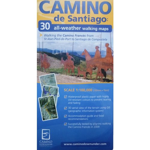 Camino Downunder 30 All Weather Walking Map