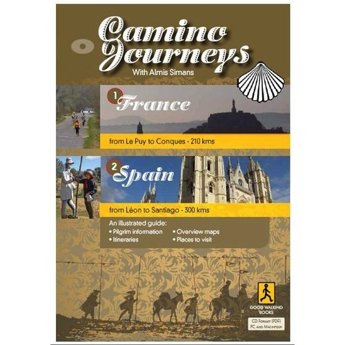 Camino Journeys with Almis Simans Illustrated Guide CD/PDF