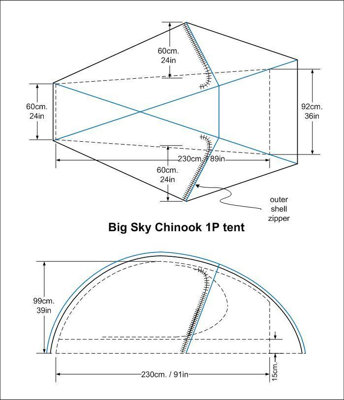 BIG SKY BIG SKY CHINOOK 1P TENT