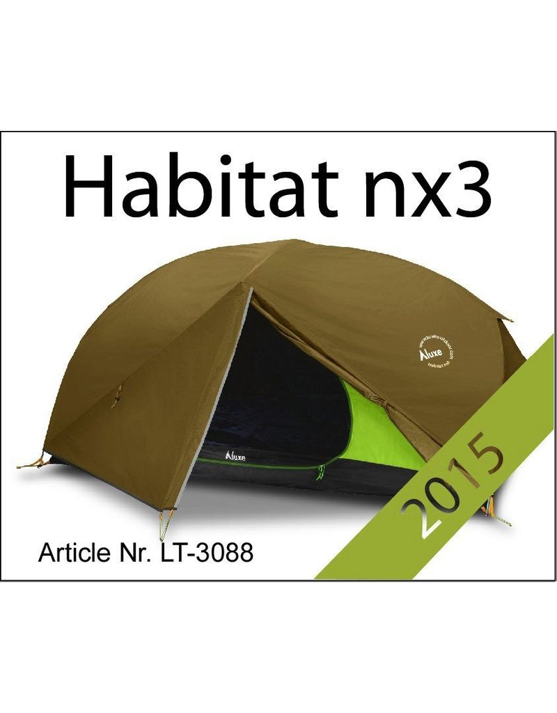 LUXE LUXE HABITAT NX ( with Footprint Included)