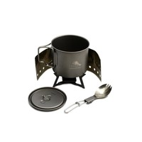 TOAKS TITANIUM COOKSET WITH STOVE