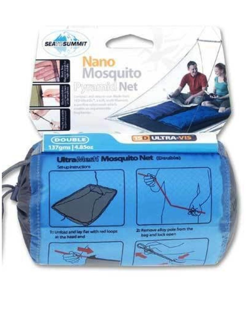 SEA TO SUMMIT SEA TO SUMMIT NANO MOZZIE NET DOUBLE