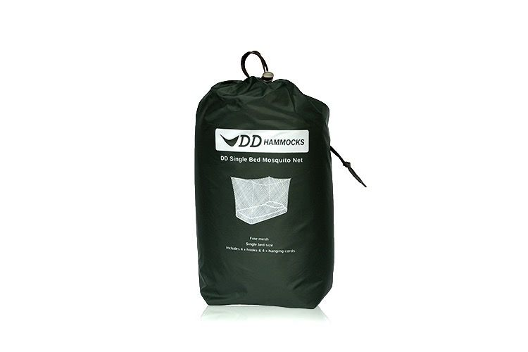 DD HAMMOCKS DD HAMMOCKS SINGLE MOSQUITO BED NET - Treated