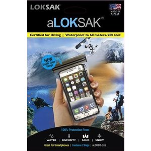 ALOKSAK ALOKSAK WATEPROOF BAG MULTI PACKS SIZE 3X6 (2PACK)