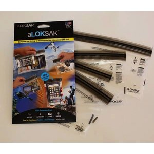 ALOKSAK ALOKSAK WATERPROOF BAG MULTI PACKS SIZE SMP-1EACH OF 5X4 4X7 6X6 9X6 (4 TOTAL)