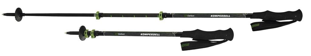 KOMPERDELL KOMPERDELL C3 CARBON POWERLOCK TREKKING POLES
