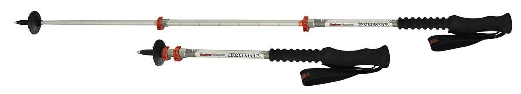 KOMPERDELL KOMPERDELL EXPLORER COMPACT POWERLOCK 3 TREKKING POLES