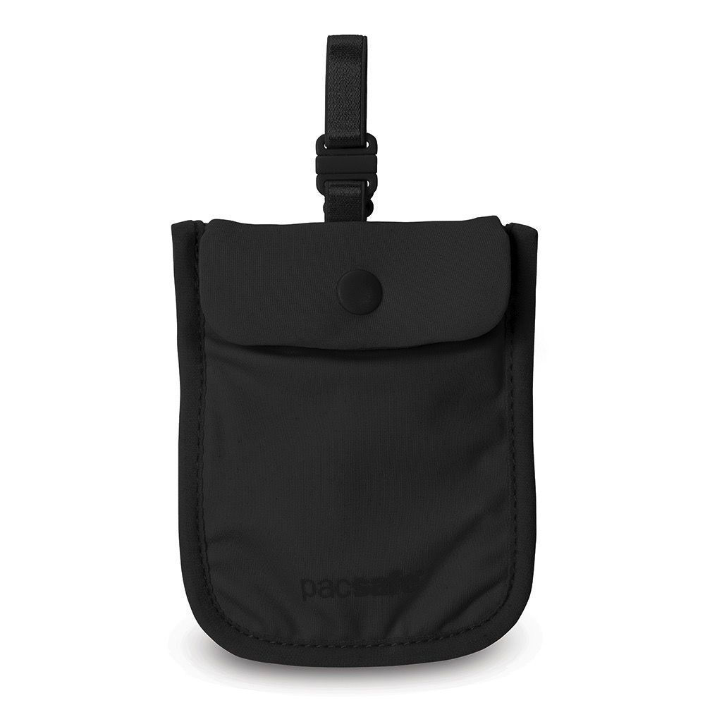 PACSAFE PACSAFE COVERSAFE 25 SECRET BRA POUCH BLACK