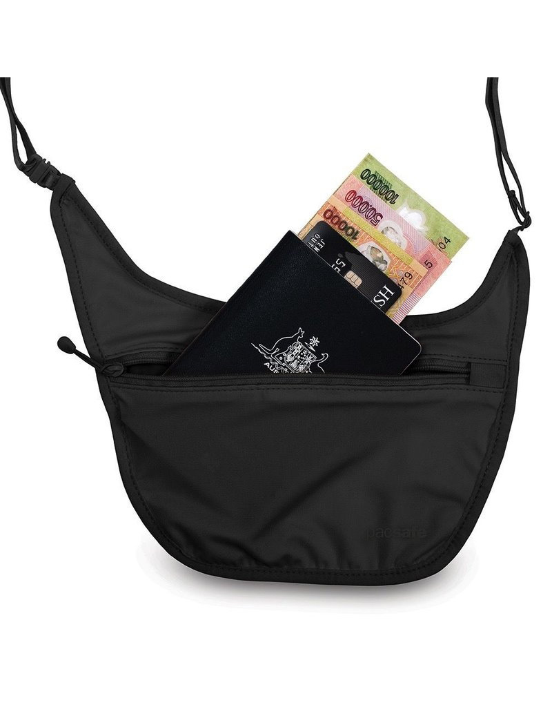 PACSAFE PACSAFE COVERSAFE S80 SECRET BODY POUCH BLACK