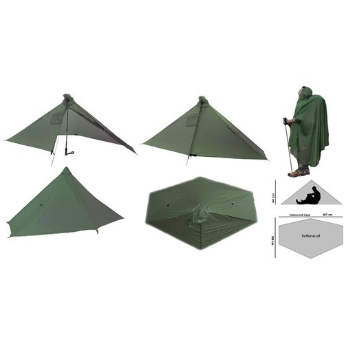 Six Moon Designs SIX MOON DESIGNS GATEWOOD CAPE SHELTER