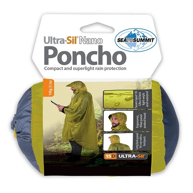 SEA TO SUMMIT SEA TO SUMMIT ULTRA-SIL NANO PONCHO