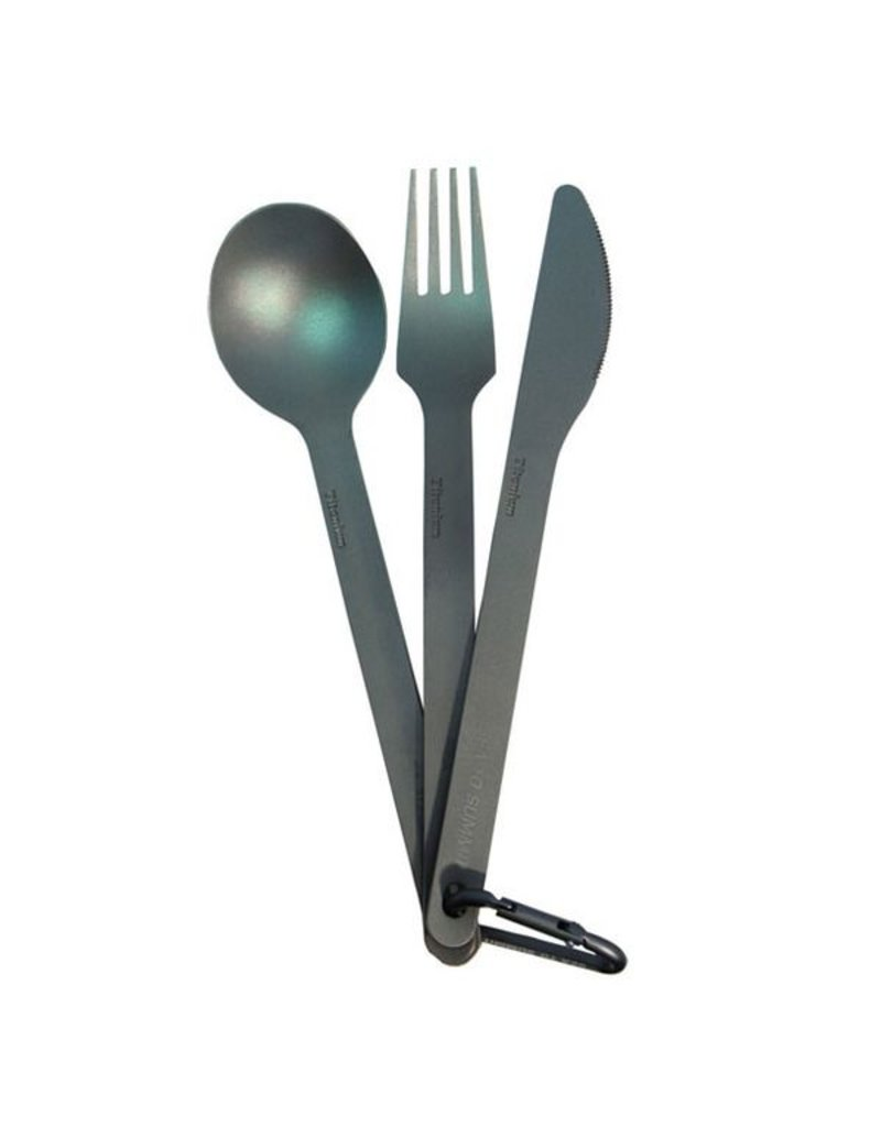 SEA TO SUMMIT SEA TO SUMMIT 3-PIECE TITANIUM CUTLERY SET