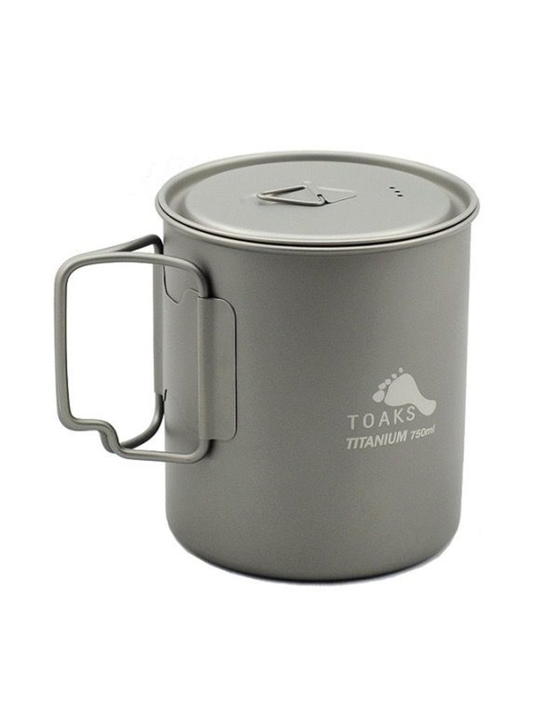 Toaks Titanium TOAKS TITANIUM POT  WITH LID 750ML