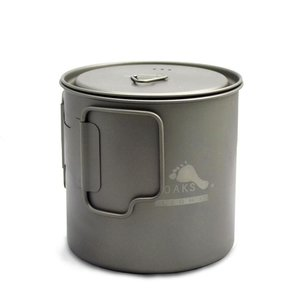 Toaks Titanium TOAKS LIGHT TITANIUM POT WITH LID 650ML