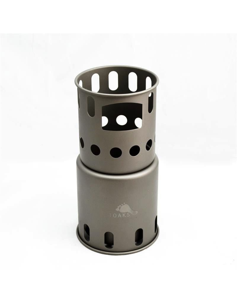 Toaks Titanium TOAKS TITANIUM BACKPACKING WOOD BURNING STOVE - Small